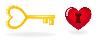 κλειδί καρδιών για απεικόνιση αποθεμάτων