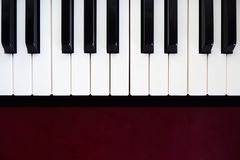 Κλειδί πιάνων Περίληψη και υπόβαθρο τέχνης κλασσική μουσική οργάνω&n στοκ φωτογραφία με δικαίωμα ελεύθερης χρήσης
