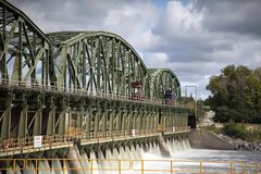 Κλειδαριά 8, κανάλι του Erie Στοκ Εικόνα