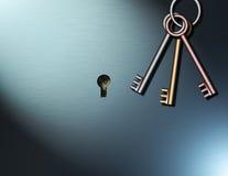 κλειδιά για τον πλούτο διανυσματική απεικόνιση