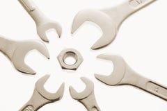 κλειδιά καρυδιών Στοκ εικόνες με δικαίωμα ελεύθερης χρήσης