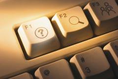 Κλειδιά υπολογιστών στοκ εικόνα