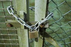 κλειδωμένος Στοκ Εικόνες