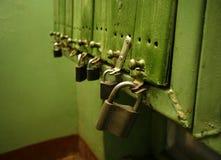 κλειδώματα επιστολών κι& Στοκ φωτογραφία με δικαίωμα ελεύθερης χρήσης