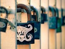 κλειδώματα κινηματογρα&p Στοκ Εικόνες