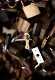 κλειδώματα ομάδας Στοκ Φωτογραφία