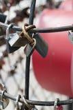 Κλειδώματα της αγάπης Στοκ εικόνα με δικαίωμα ελεύθερης χρήσης