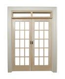 κλειστές πόρτες γαλλικά Στοκ Φωτογραφία