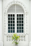 κλειστή αποικιακή πόρτα Στοκ εικόνα με δικαίωμα ελεύθερης χρήσης