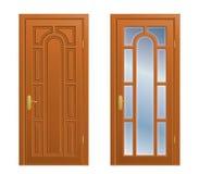 κλειστή πόρτα Στοκ Φωτογραφίες