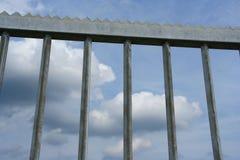κλειστή πύλη Στοκ φωτογραφία με δικαίωμα ελεύθερης χρήσης
