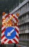 κλειστός δρόμος Στοκ εικόνα με δικαίωμα ελεύθερης χρήσης