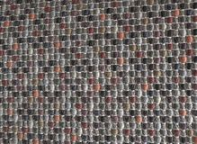 Κλειστός επάνω της τετραγωνικής σύστασης του ζωηρόχρωμου σχεδίου ύφανσης Στοκ Φωτογραφία