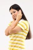 κλειστό θηλυκό αυτιών Στοκ εικόνες με δικαίωμα ελεύθερης χρήσης