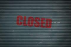 Κλειστό παραθυρόφυλλο Στοκ Φωτογραφίες