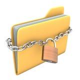 Κλειδωμένη γραμματοθήκη Στοκ Εικόνες