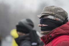 ΚΛΕΜΜΕΝΗ ΔΙΚΑΙΟΣΥΝΗ - διεθνής διαμαρτυρία Στοκ φωτογραφίες με δικαίωμα ελεύθερης χρήσης