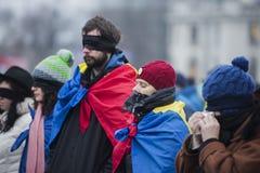 ΚΛΕΜΜΕΝΗ ΔΙΚΑΙΟΣΥΝΗ - διεθνής διαμαρτυρία Στοκ Φωτογραφία