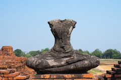 Κληρονομιά Βούδας κανένας κεφάλι και βραχίονας Στοκ Εικόνες