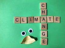 Κλιματική αλλαγή, δημιουργική έννοια περιβαλλοντολογικών θεμάτων στοκ φωτογραφία