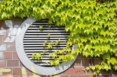 κλιματιστικό μηχάνημα πράσι& Στοκ Φωτογραφία
