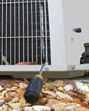 κλιματιστικό μηχάνημα χαλασμένο Στοκ φωτογραφίες με δικαίωμα ελεύθερης χρήσης