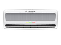 κλιματιστικό μηχάνημα Απεικόνιση αποθεμάτων
