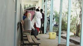 Κλινική υγείας στην Αφρική απόθεμα βίντεο