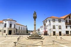Κλοιός Nova de Foz Coa †«Manueline Vila στοκ φωτογραφία