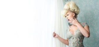 Κλονισμός της νύφης Στοκ εικόνα με δικαίωμα ελεύθερης χρήσης