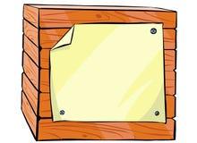 κλουβί ξύλινο Στοκ εικόνα με δικαίωμα ελεύθερης χρήσης