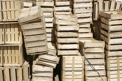 κλουβιά ξύλινα Στοκ εικόνες με δικαίωμα ελεύθερης χρήσης
