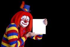 κλόουν τσίρκων Στοκ Φωτογραφίες