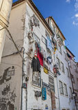 Κοΐμπρα Προαύλια και οδοί της παλαιάς πόλης Στοκ Φωτογραφίες