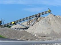 κοίλωμα αμμοχάλικου Στοκ εικόνα με δικαίωμα ελεύθερης χρήσης