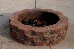 κοίλωμα πυρκαγιάς στοκ φωτογραφία