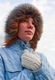 κοίταγμα ελπίδας κοριτ&sigm Στοκ εικόνα με δικαίωμα ελεύθερης χρήσης