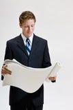 κοίταγμα επιχειρηματιών &sigm στοκ φωτογραφία
