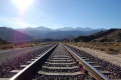 Κοίταγμα κάτω από τις διαδρομές προς τα βουνά SAN Gabriel στοκ εικόνα με δικαίωμα ελεύθερης χρήσης