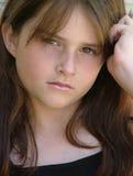 κοίταγμα κοριτσιών Στοκ εικόνες με δικαίωμα ελεύθερης χρήσης