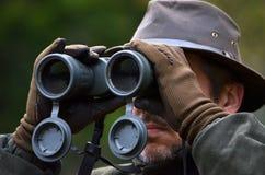 κοίταγμα κυνηγών διοπτρών Στοκ Εικόνες