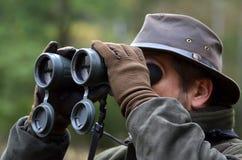 κοίταγμα κυνηγών διοπτρών Στοκ φωτογραφίες με δικαίωμα ελεύθερης χρήσης