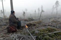 Κοίταγμα κυνηγών Στοκ Εικόνες