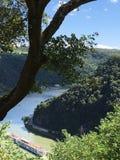 Κοίτη ποταμού ελιγμού στοκ εικόνες με δικαίωμα ελεύθερης χρήσης