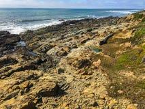 Κοίλη κρατική παραλία φασολιών στοκ φωτογραφίες