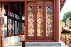 Κοίλο έξω παράθυρο στο πάτωμα Zhong Στοκ φωτογραφία με δικαίωμα ελεύθερης χρήσης