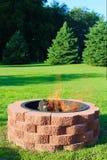 Κοίλωμα πυρκαγιάς στοκ φωτογραφία με δικαίωμα ελεύθερης χρήσης