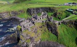 Κοβάλτιο του Castle Dunluce Antrim Βόρεια Ιρλανδία Στοκ Φωτογραφίες