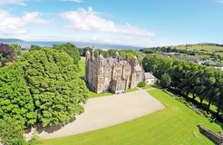 Κοβάλτιο του Castle Glenarm Antrim Βόρεια Ιρλανδία Στοκ Φωτογραφία