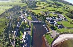 Κοβάλτιο Cushendun Antrim Βόρεια Ιρλανδία Ιρλανδία Στοκ εικόνες με δικαίωμα ελεύθερης χρήσης